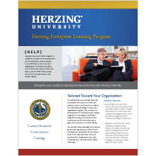 Herzing Enterprise Learning Program brochure