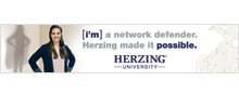 Herzing University bus wrap